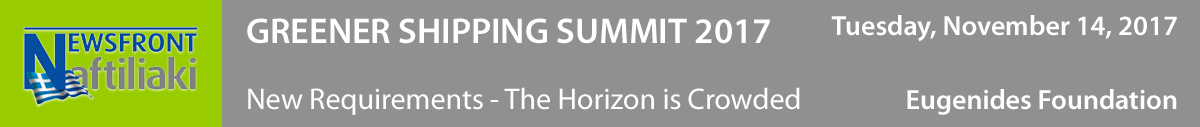 Greener Shipping Summit 2017. New Requirements – The Horizon is Crowded